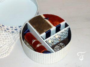 Fannys - Boîte à bijoux tissu