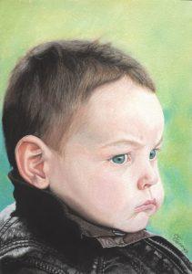 Fannys - Portrait pastels secs - Little Rocker