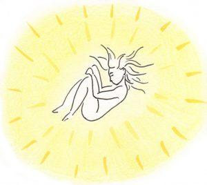 Baigner dans la lumière