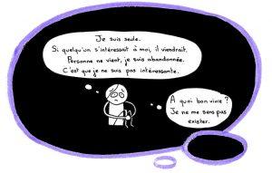 Fannys - La petite fille intérieure de Panda se croit seule