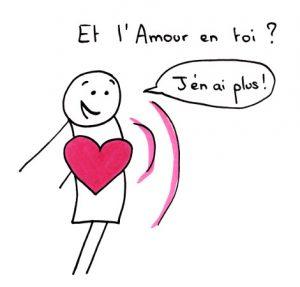 Et l'Amour en toi ? - J'en ai plus !