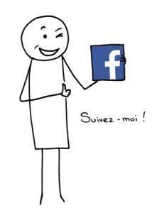Fannys - Suivez-moi sur facebook