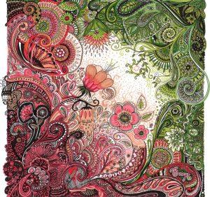 Fannys - Rencontre entre le rose et le vert