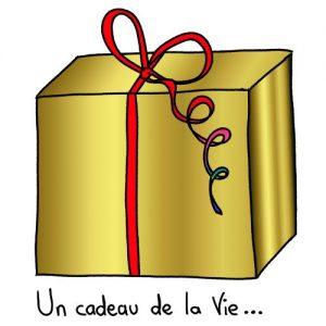 Un cadeau de la Vie