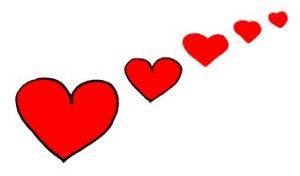 Pleins de coeurs et d'Amour