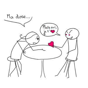 Je veux ma dose d'amour... (dépendance affective)