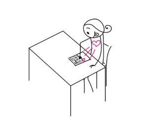 s'écrire une lettre d'amour