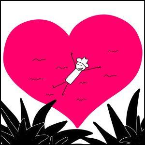 Baigner dans l'Amour de soi, dans l'Amour intérieur