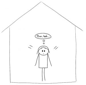 Je me suis retrouvée seule chez moi, face à moi-même