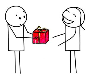 Une personne que j'apprécie m'a offert un magnifique cadeau