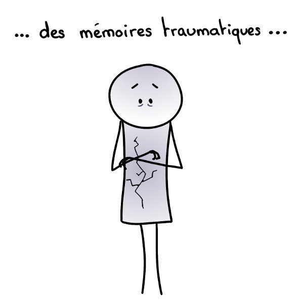 Des mémoires traumatiques... (fissures intérieures)