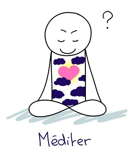 Méditation (même si on se sent mal : ce n'est pas toujours facile de méditer)