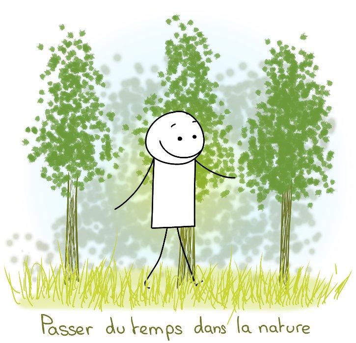 Passer du temps dans la nature, se balader