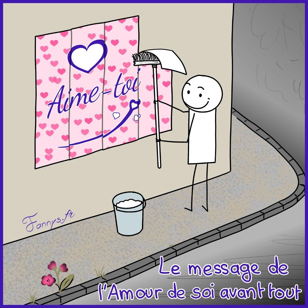 Le message de l'Amour de soi avant tout !